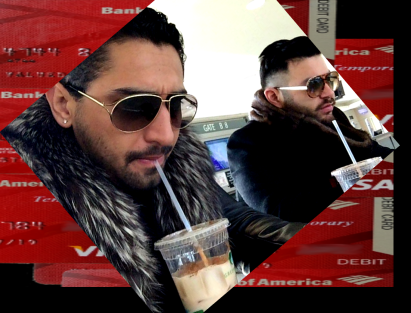 CHICAGO MIDWAY International Airport Terminal B. STARBUCKS FRAUD ALERT. No Starbucks here so the fraudster pair had to settle for a STARBUCKS wannabe substitute even with the same trademark STARBUCKS green for the printed logo on the plastic cup. Mario Elizondo and Jorge Cadenas were at the gate preparing for a flight to Nashville. 2016 All rights reserved IDTheftReport2020.com