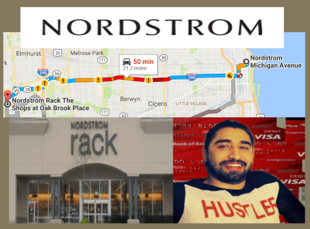 """FRAUD ALERT NORDSTROM * NORDSTROM RACK   Fraudster Jorge Cadenas just can't stop being """"very bad"""" and those are his own words. Cadenas had just returned from ripping off stores all over Manhattan with his lover Bank of America ID thief Mario Elizondo when he traveled to the another shoppers Mecca -Oak Brook and Oak Brook Terrace, on Wednesday July 6 2016, where he defrauded not only NORDSTROM RACK but other area establishments as well.  2016 All rights reserved IDTheftReport2020.com"""