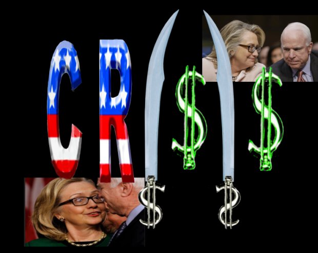 CR I$I$ CRISIS 2016 All rights reserved. Hilllary Clinton John McCain Baraack Obama worked together to create ISIS network. IDTheftReport2020.com