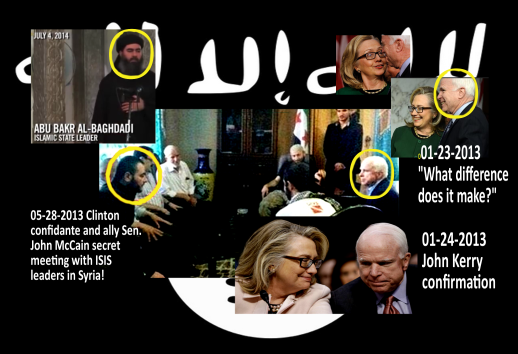 CR-I$I$ 2016 - Hillary Clinton and John McCain covertly established ISIL and ISIS. 2016 All rights reserved. IDThetReport2020.com